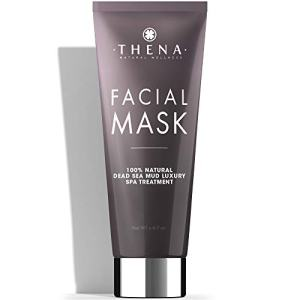 Organic Face Mask Dead Sea Mud Hydrating & Brightening Treatment For Women & Men, Best Facial Masks Acne Pore Minimizer Reducer Blackhead Remover Natural Organic Skin Care Beauty Products