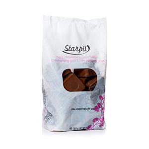 Starpil Wax - Stripless Chocolate (Original Blend) - Low Temperature Hard Wax Tablets for Painless Hair Removal - 2.2lb/35oz, 1 Kilo Bag