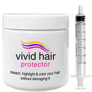 INVERTO VIVID HAIR Color Protector Perfector Prevent Hair Bleaching, Highlighting Coloring Damage From the Start safe for all blondes, vivid, bright & dark colors (60 grams)