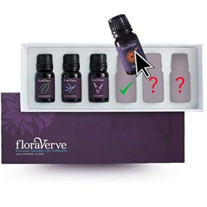 floraVerve Essential Oils Customized Set, Build Your Own Exclusive Collection (6 x10mL), All Natural & 100% Pure Aromatherapy Essential Oils, NO MORE Pre-Set Collection - Pick Only Those You Like!