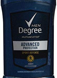 Degree Men Motionsense Antiperspirant Deodorant, Sport Defense, 2.7 Ounce (Pack fo 4)