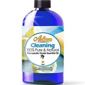 Artizen Cleaning Blend Essential Oil (100% Pure & Natural - UNDILUTED) Therapeutic Grade - Huge 2oz Bottle - Blended W/Lemongrass, Lemon Eucalyptus, Lavender, Rosemary, Tea Tree