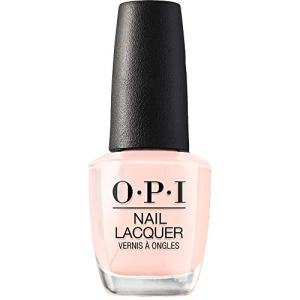 OPI Nail Polish, Nail Lacquer, Bubble Bath, Neutral Pink Nail Polish, 0.5 Fl Oz