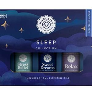 Woolzies 100% Pure Good Night Sleep Essential Oil Blend Set | Helps Sleeping Better, Faster & Restful| Sweet Dreams Oils for Insomnia |Natural Sleeping Aid |Helps Stress, Undiluted Therapeutic Grad