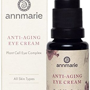 Annmarie Skin Care Anti-Aging Eye Cream - Soothing Eye Cream with Damas Rose and Sweet Iris Plant Cells, Cucumber Extract + CoQ10 (15 Milliliters, 0.5 Fluid Ounces)