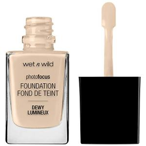wet n wild Photo Focus Dewy Foundation, Nude Ivory, 1.06 Ounces