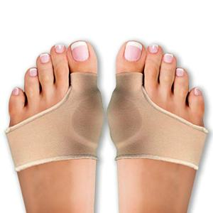 Bunion Toe Corrector | Orthopedic Gel Pad Bunion Pain Relief | Unisex Metatarsal Hammer Toe Pads | Insert Cushion Splint in Shoes | Fits with Socks as Well (4 Pack)