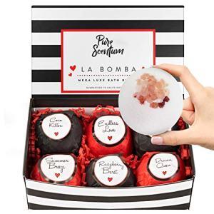 Bath Bombs for Women - Luxury Organic Bath Bombs for Girls and Women - Vegan Natural Gift Sets – US Made - La Bomba Set
