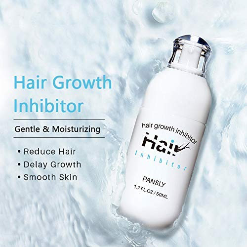 Hair Removal Spray Reducing to Stop Hair Growth Hair Inhibitor, Hair Removal Spray Reducing to Stop Hair Growth, For men and women Mild Ingredient Non-Irritating Hair Removal Spray Depilatories Product(50ML)