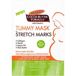 Palmer's Cocoa Butter Formula Tummy Mask for Stretch Marks & Pregnancy Skincare (Single Use Mask)