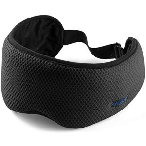 New Arrival Sleep Eye Mask for Women Men,Travel Eye Mask&Blindfold with Protective Pouch,101% Block Out Light Sleep Mask with Removable Strap for Travel, Nap, Yoga