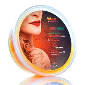 "Sugaring Paste""Luxury HOME"" – HARD for brazilian bikini area line - Organic Hair Removal - Sugar Wax hair remover"