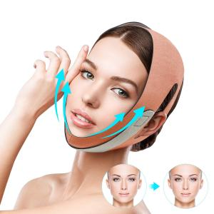 QUECC Face Slimming Strap, Pain-Free Face Shaper Band, V-Line Face Lifting Bandage, Double Chin Reducer Facial Weight Loss Belt, Eliminates Sagging Skin Lifting Firming Anti Aging Face Corrector
