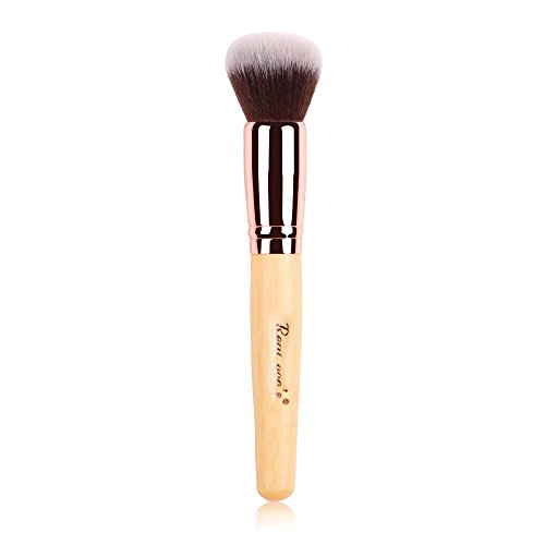 Contour Brush, Face Brush with Bamboo, Soft Foundation Brush, Premium Blush Brush, Powder Brush, Concealer Brush-Makeup Brushes Tool