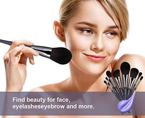BS-MALL(TM) Makeup Brushes Premium Makeup Brush Set BS-MALL(TM) Makeup Brushes Premium Makeup Brush Set Synthetic Kabuki Cosmetics Foundation Blending Blush Eyeliner Face Powder Brush Makeup Brush Kit(16PCS,Black).