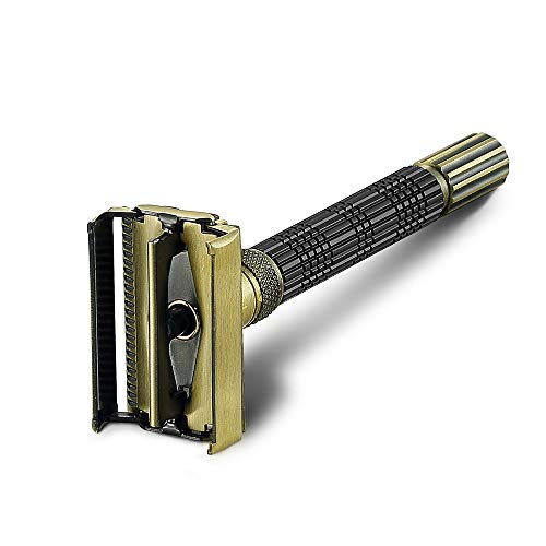 VIKINGS BLADE The Crusader Adjustable Safety Razor Bundle Dimensions: 6.6 x 2.5 x 1.four inches