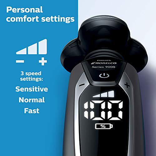 Philips Norelco Shaver with SmartClean, Rechargeable Wet/Dry Electric Shaver Launch Date: 2015-09-26T00:00:01Z