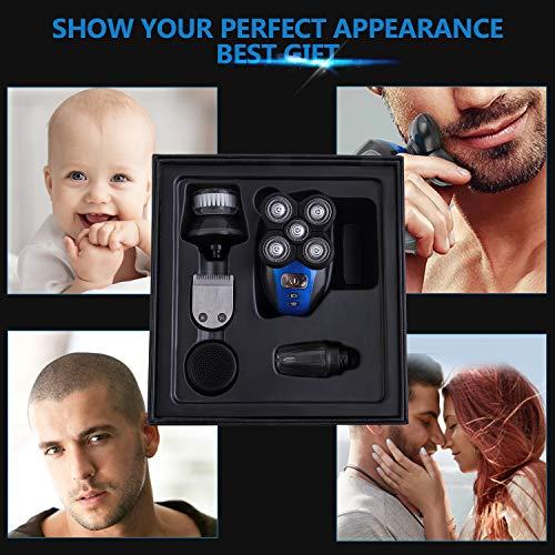 Electric Shaver Razor for Men Bald Head Shaver 5 in 1 Grooming Kit Bundle Dimensions: 5.zero x 7.zero x 6.1 inches