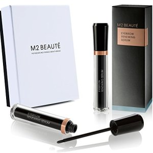 Eyebrows Growth Serum , M2BROWS Eyebrows Renewing Serum & M2Beaute Gift Box, Highest German Quality Professional Eyebrows Serum for Growing Natural Bold & Dramatic Eyebrows in 6 Weeks!