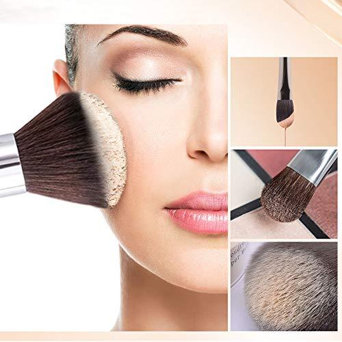 3pcs Face Makeup Brushes Set for Women Wood Handle Professional Premium 3pcs Face Makeup Brushes Set for Women Wood Handle Professional Premium Synthetic Make Up Power Contour Highlight Blush Brush Kit for Girls Cosmetics.