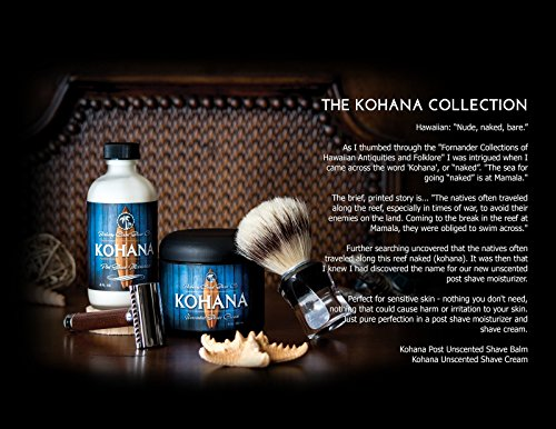Sale - Unscented Kohana Aftershave - Post Shave Moisturizer and Face Lotion Package deal Dimensions: 2.zero x 2.zero x 4.5 inches