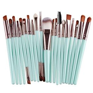 Makeup Brush Set 20 pcs Premium Foundation Face Powder Blush Eyeshadow Brushes Makeup Brush Kit