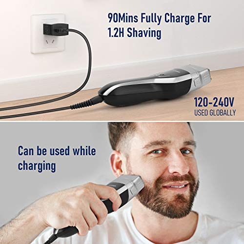 Aposen Electric Razor for Men, USB Rechargeable Foil Shaver with LED Display Launch Date: 2020-03-17T00:00:01Z
