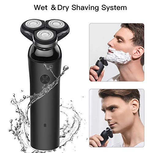 Electric Razor for Men Wet and Dry Rotary Shavers Cordless Rechargeable Electric Razor for Men Wet and Dry Rotary Shavers Cordless Rechargeable Electric Shaver.