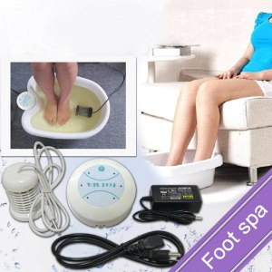 CE Foot massage Foot SPA Bath With Mini Detox Machine Ion