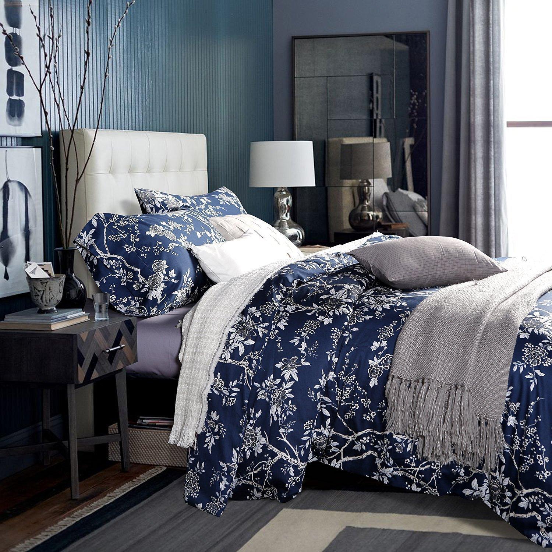 Navy Blue Bedspread King
