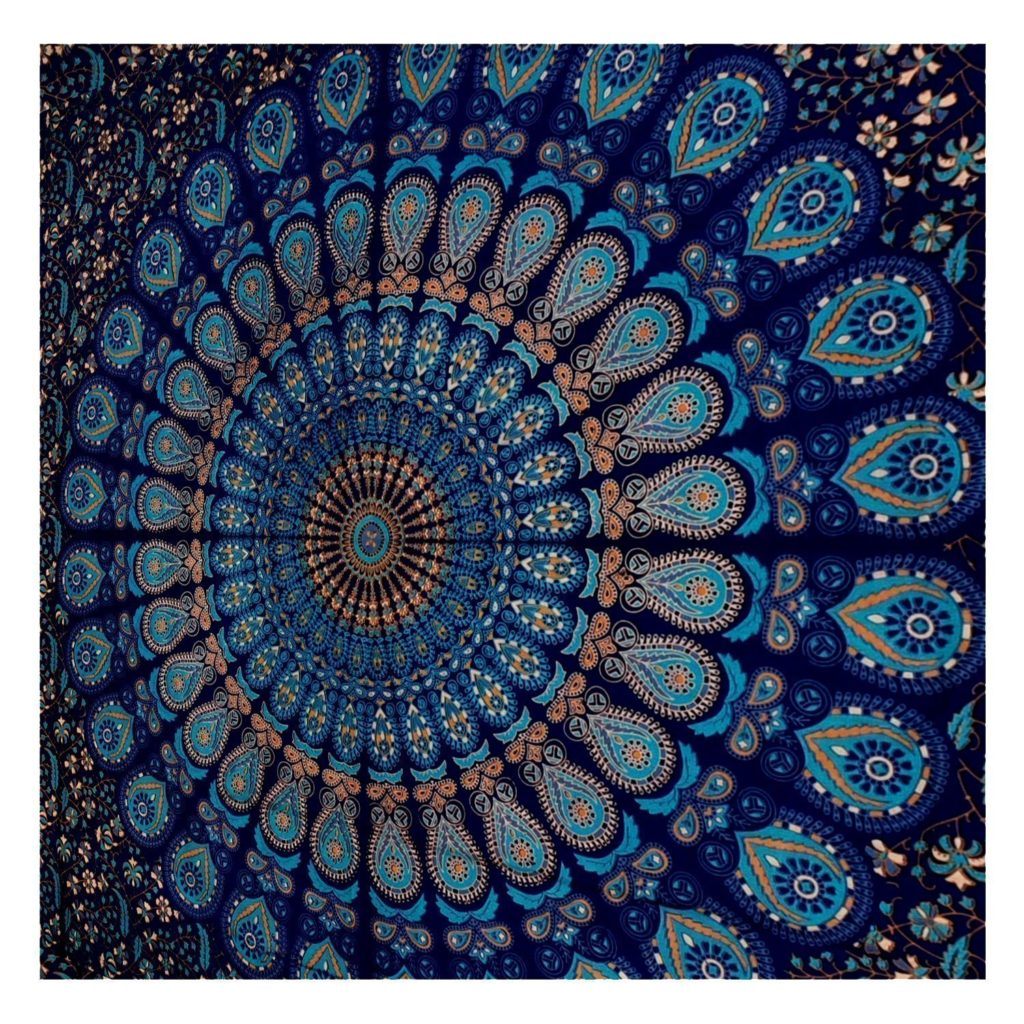 Boho Chic Accessories Bohemian Style Accessories Mandala Wall Tapestry