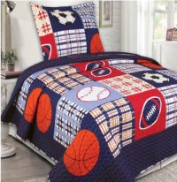 Red White and Blue Boys Bedding and Baby Boys Comforter Set
