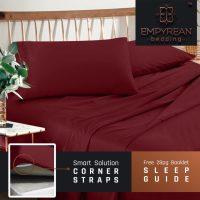 Burgundy Bedspreads and Burgundy Comforter Sets at