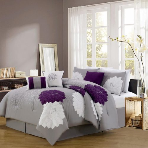 Purple Bedding Ideas