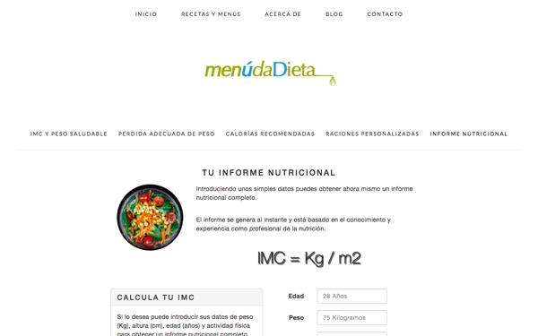 Md Informe Nutricional Completo