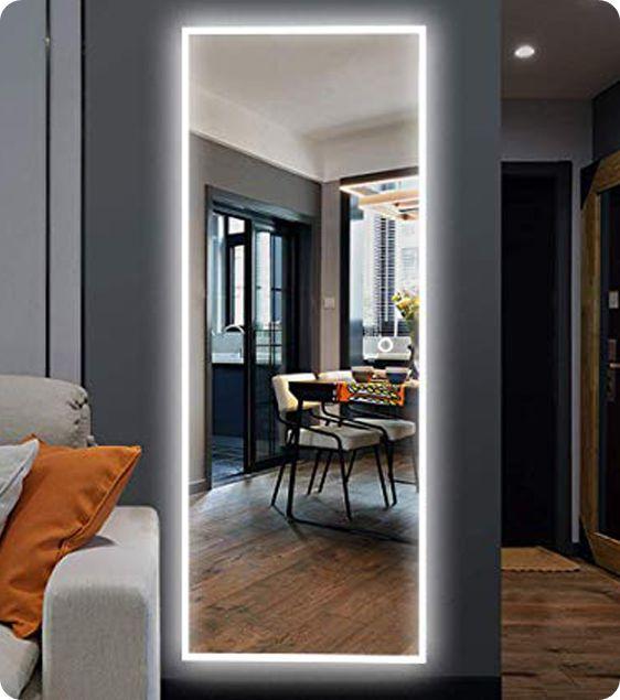 Wall LED Bathroom Lighted Hospitality Mirror-Luxdream LED ...