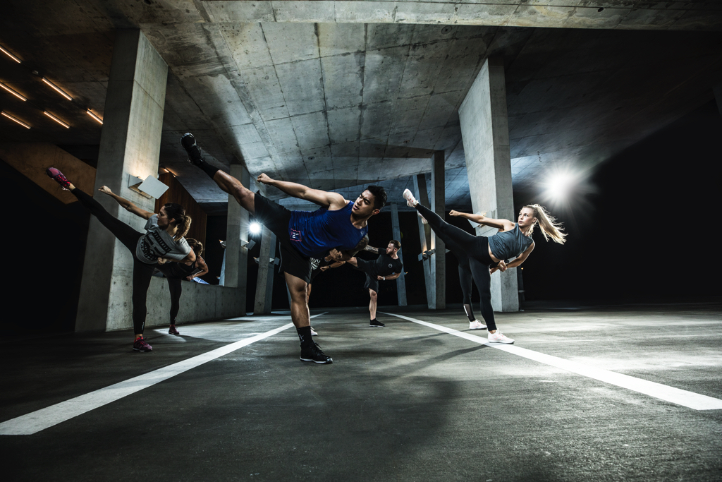 Body combat classes at Luxe Fitness Gym in Bristol