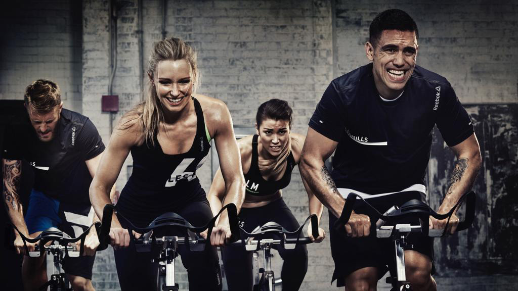 Les Mills RPM training from Luxe Fitness gym in Bristol