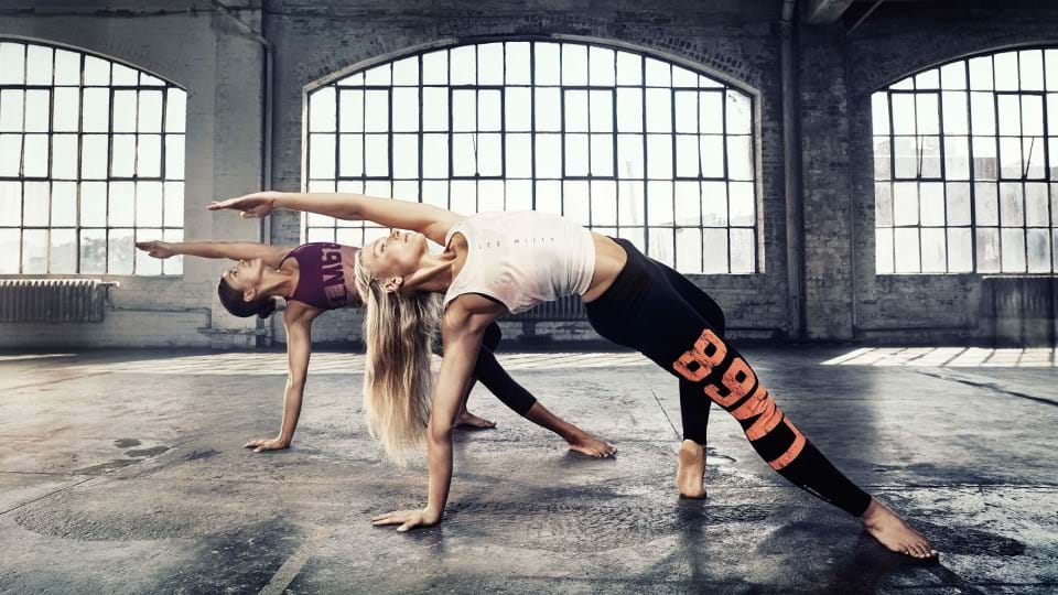 Body balance training at Luxe Fitness Gym in Bristol