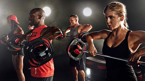 Virtual body pump classes available from Luxe Fitness Gym in Bristol