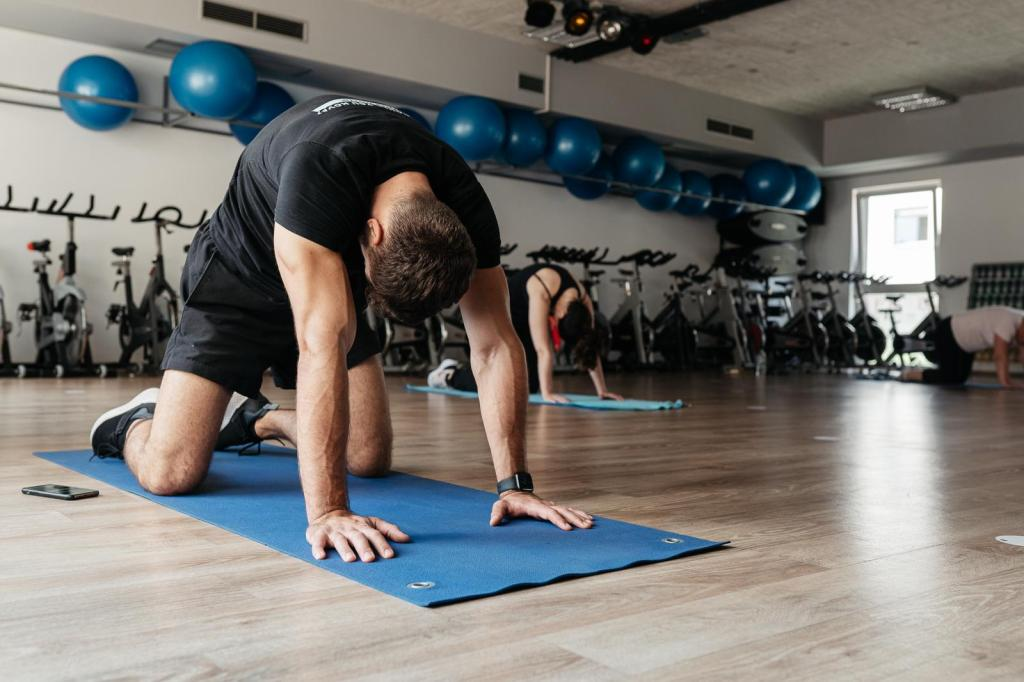 warm up exercises before you train
