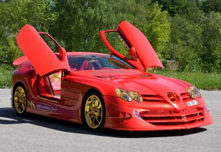 Mercedes-Benz SLR McLaren 999 Red Gold Dream Ueli Anliker