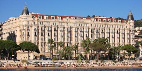 L'Hotel InterContinental Carlton vu de l'extérieur