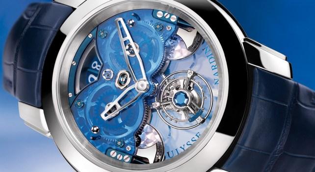 Ulysse Nardin Imperial Blue : Une histoire de temps