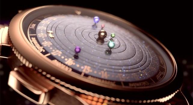 Van Cleef & Arpels Midnight Planétarium : Le système solaire à portée de main