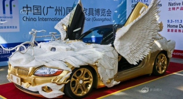 BMW : Une Z4 aux allures de dragon pour une exposition Chinoise