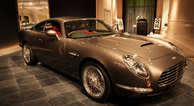 David Brown Automotive SpeedBack GT 2014 : Entre mythe et élégance