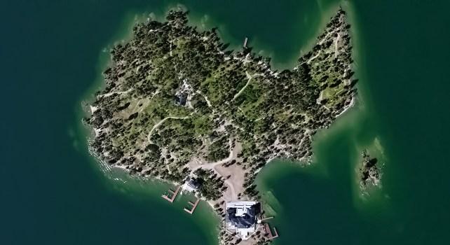 Shelter Island : Un paradis au milieu d'un lac du Montana