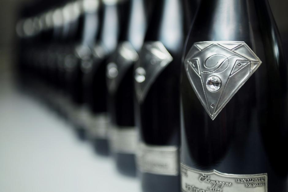 Champagne qui coute cher