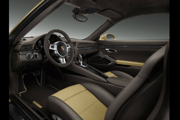 Porsche-Gold-Painted-911-Turbo-Coupe-5